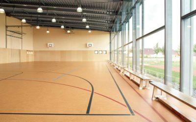 Основания для укладки спортивного линолеума: выбор и технические характеристики