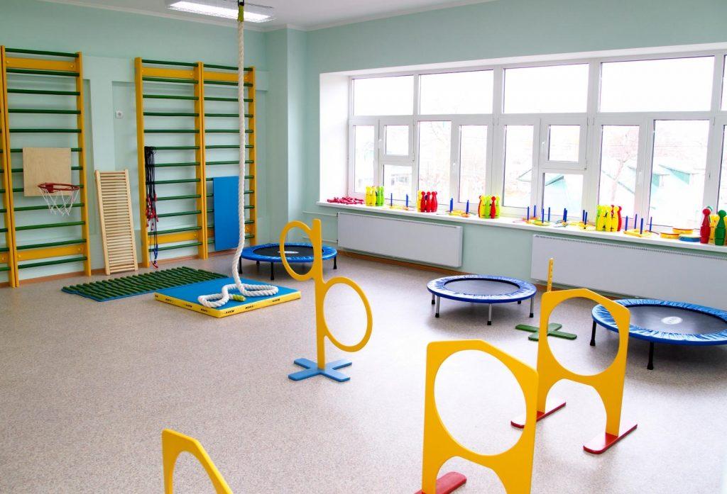 напольное покрытие для спортзала в детском саду