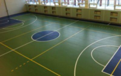 Разметка спортивного зала: как наносить, какую краску выбрать