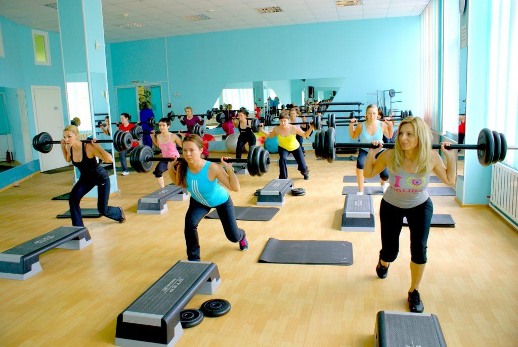 линолеум для фитнес зала