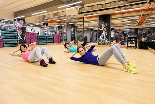 линолеум для фитнес-зала