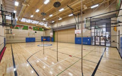 Как выбрать спортивные полы школ: необходимые условия