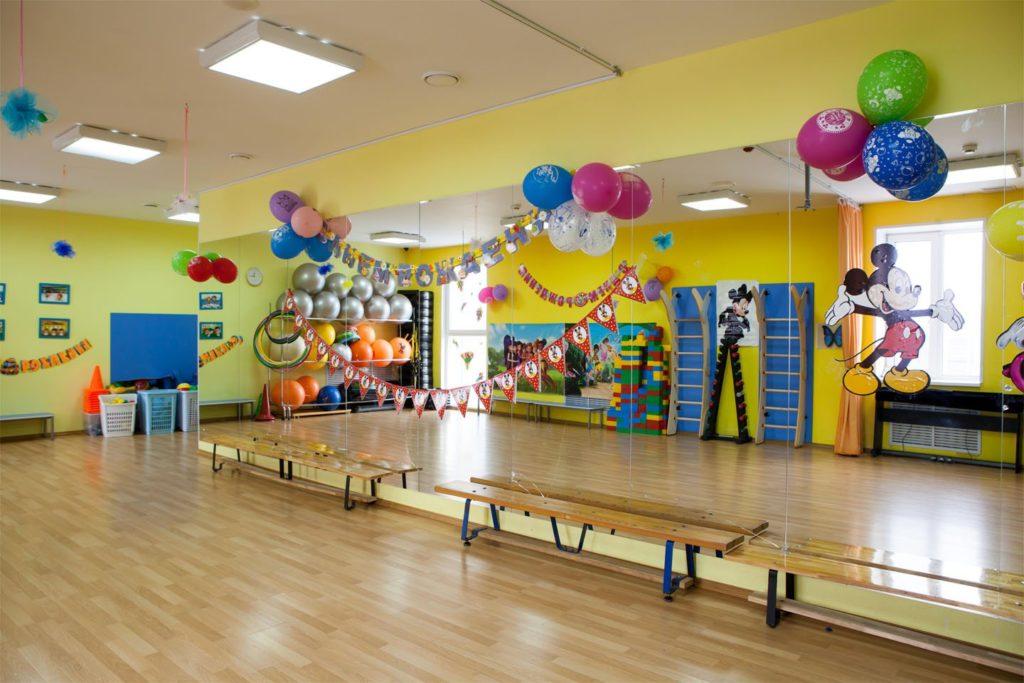 пол для спортивного зала детского сада