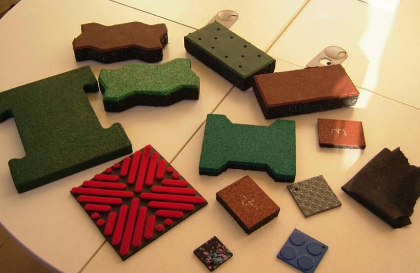 Резиновые покрытия:виды и преимущества