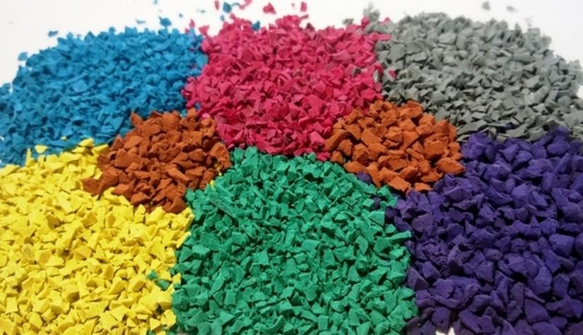 Технология укладки покрытия из резиновой крошки: по шагам