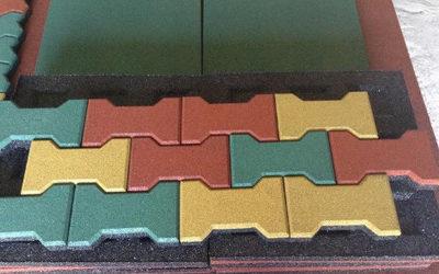 Укладка модульной резиновой плитки: инструкция по шагам